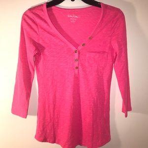 lilly pulitzer Shirt Pink Small / XS